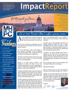 April 2014 Impact Report