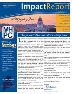 July 2014 Impact Report