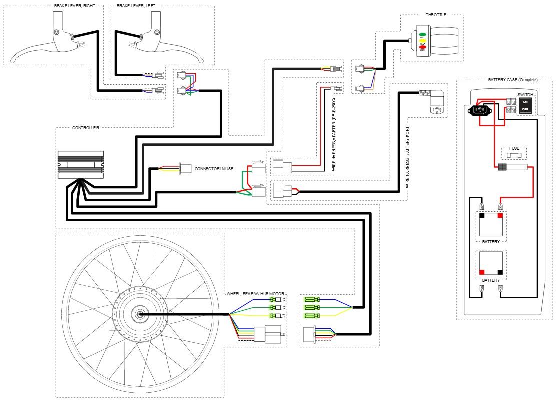 Electric Bike Controller Circuit Diagram
