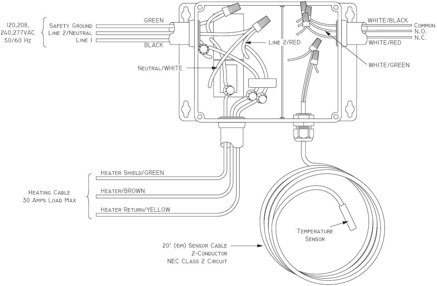 Wiring Diagram For Baseboard Electric Heat