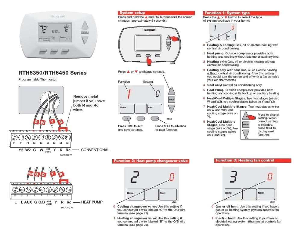 Honeywell Thermostat Wiring Diagram 2 Wire