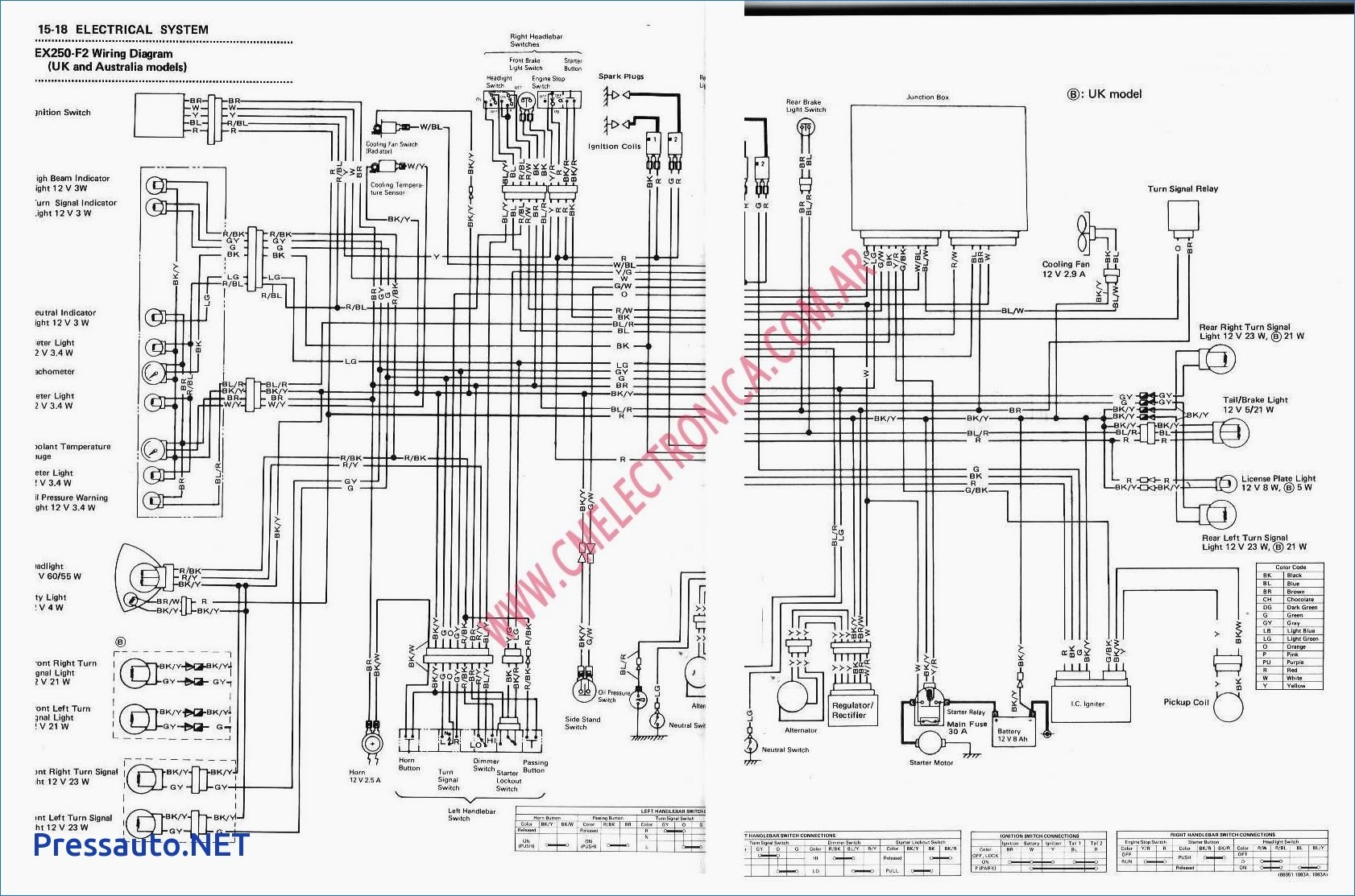 Diagram Kawasaki Bayou 220 Wiring Diagram Schematic