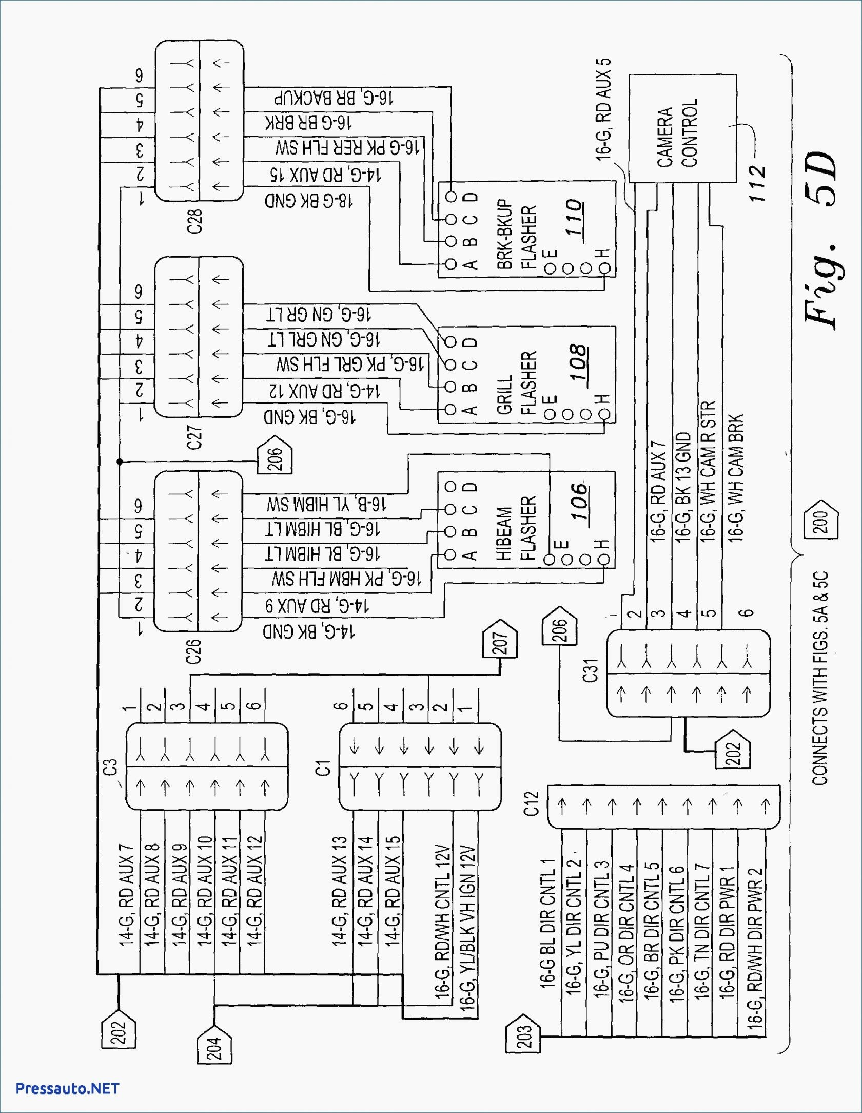 Car Stereo System Wiring Diagram