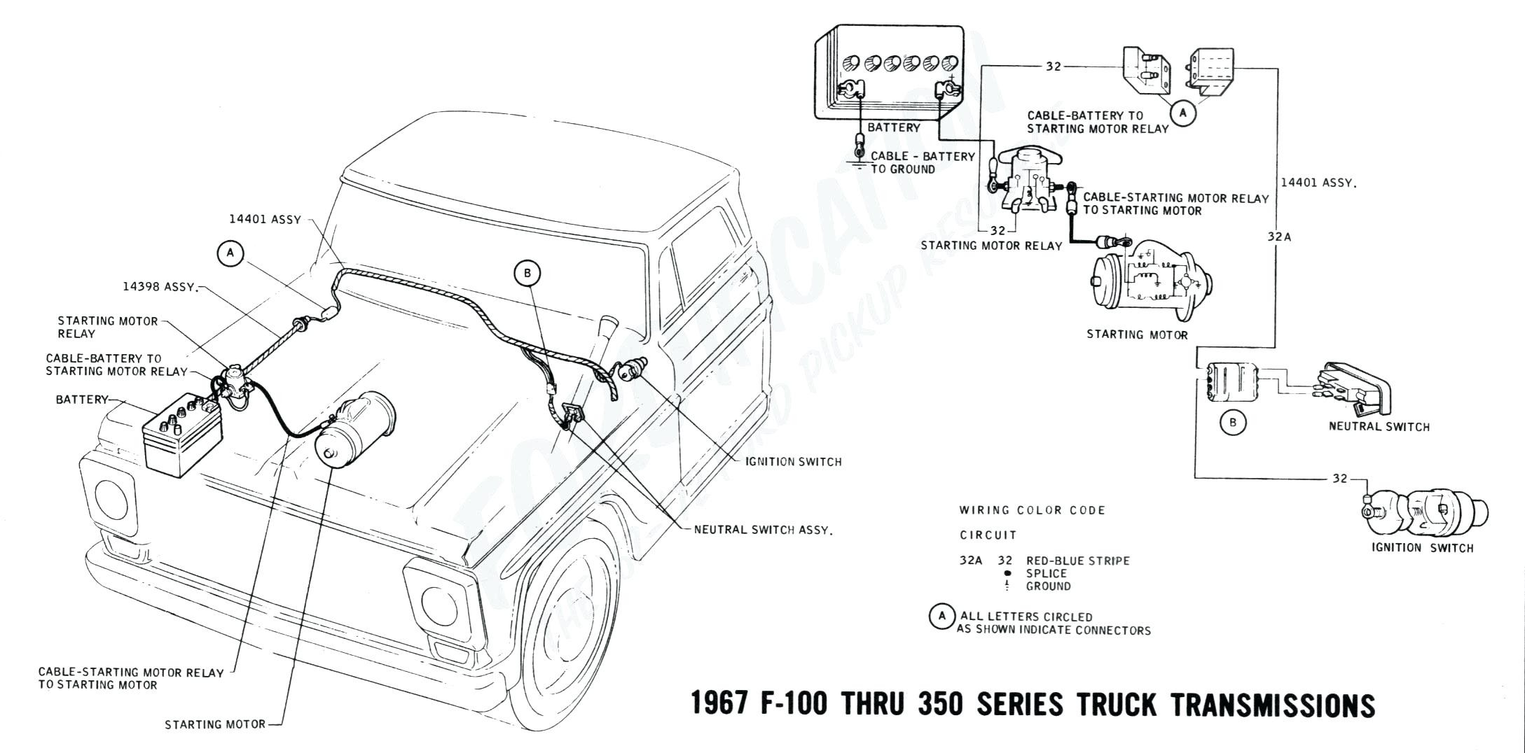 F250 Starting Wiring Diagram - Schematics Online on