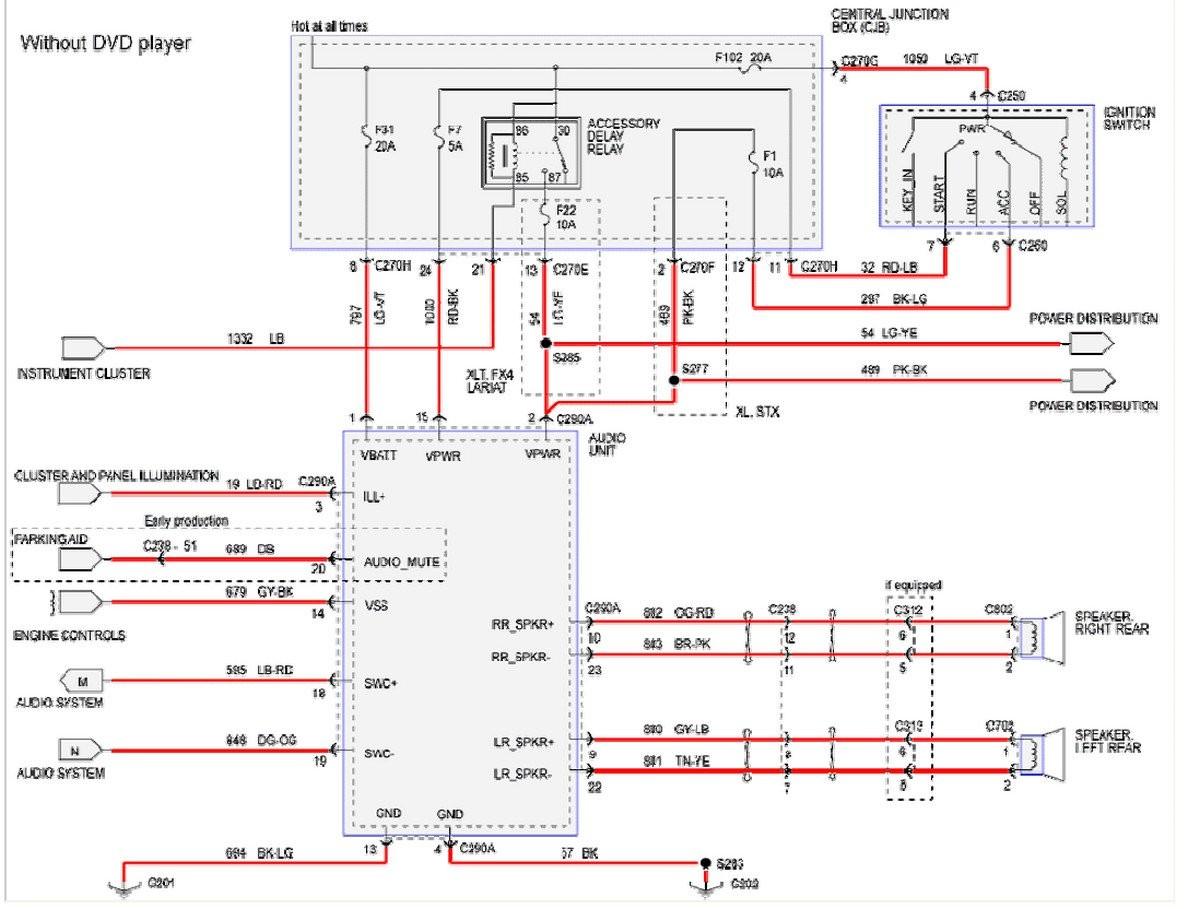 2000 F350 Radio Wiring Harness Vacuum Pump Impala Trailer 2005 Diagram F On