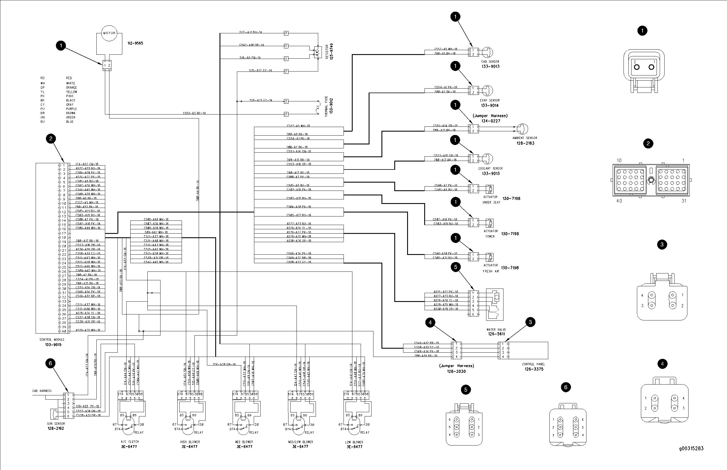 Cat E 70 Pin Ecm Wiring Diagram