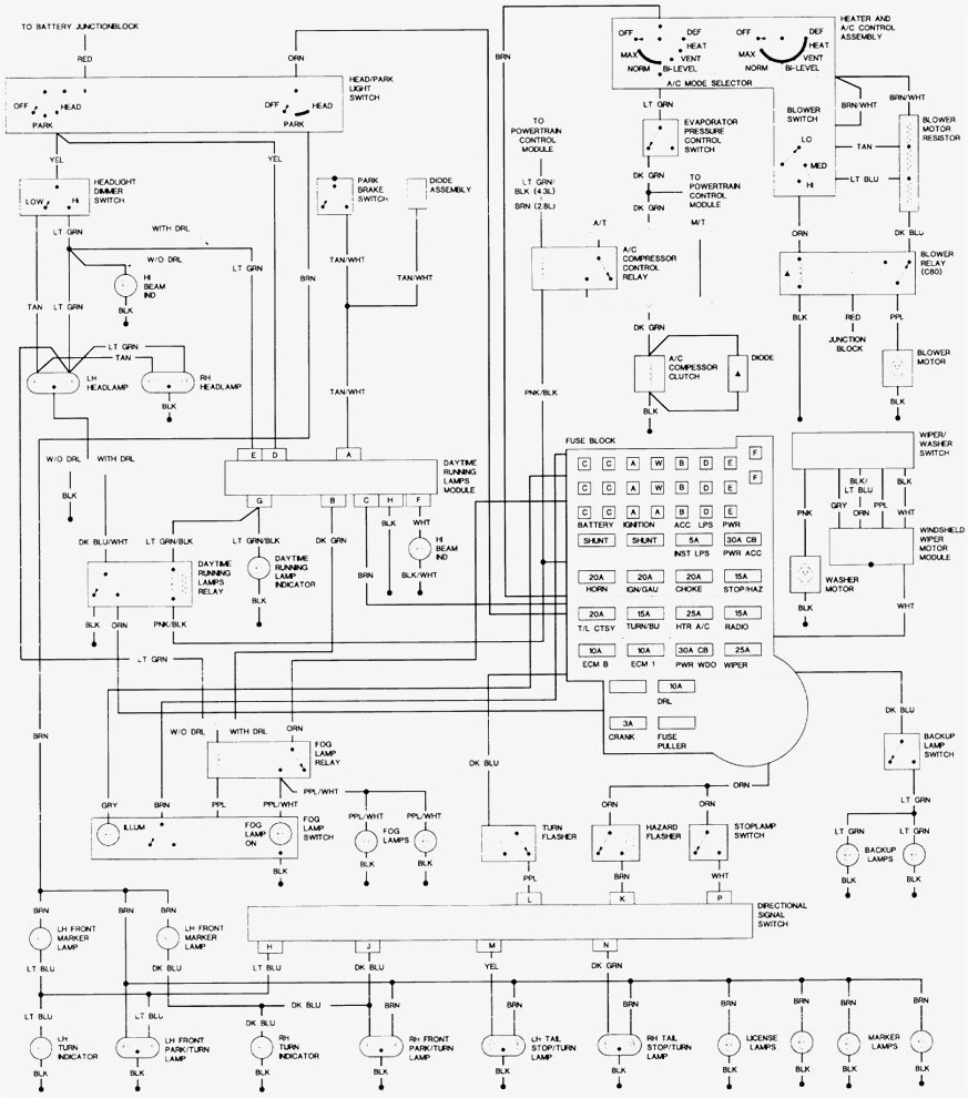 Chevy s10 trailer wiring diagram solutions