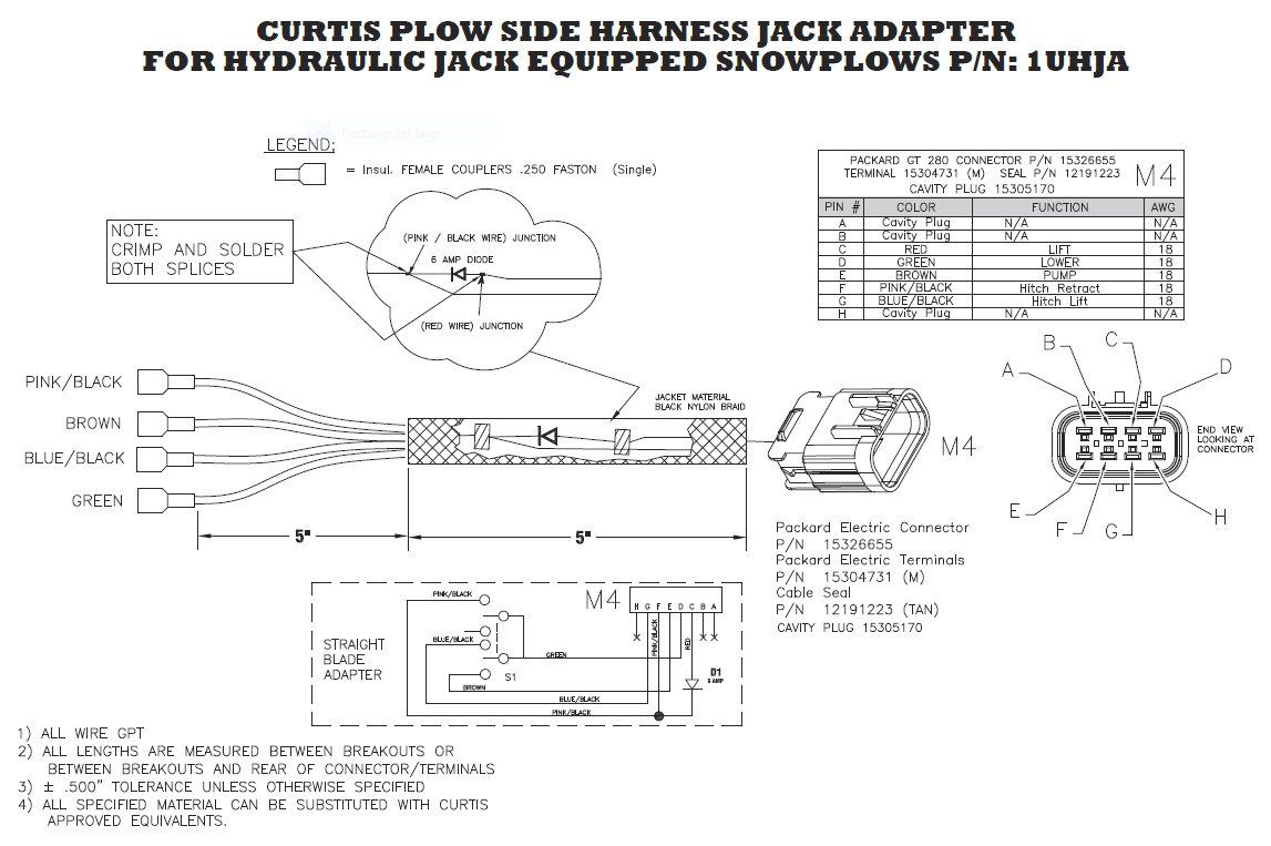 WRG-4423] Western Plow Handheld Controller Wiring Diagram on