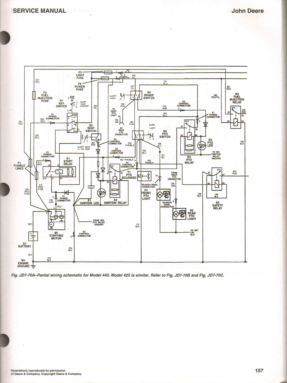 John Deere G110 Wiring Diagram