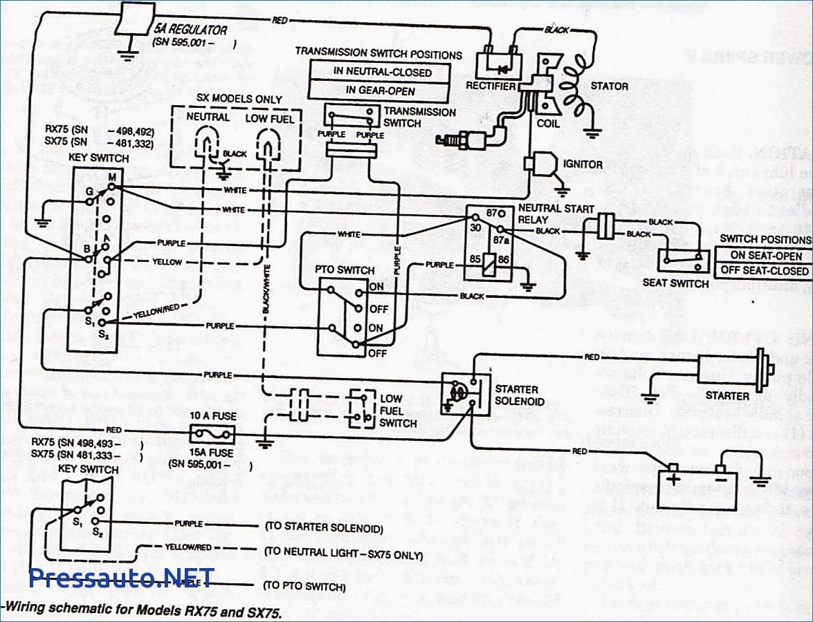 lx172 wiring diagram