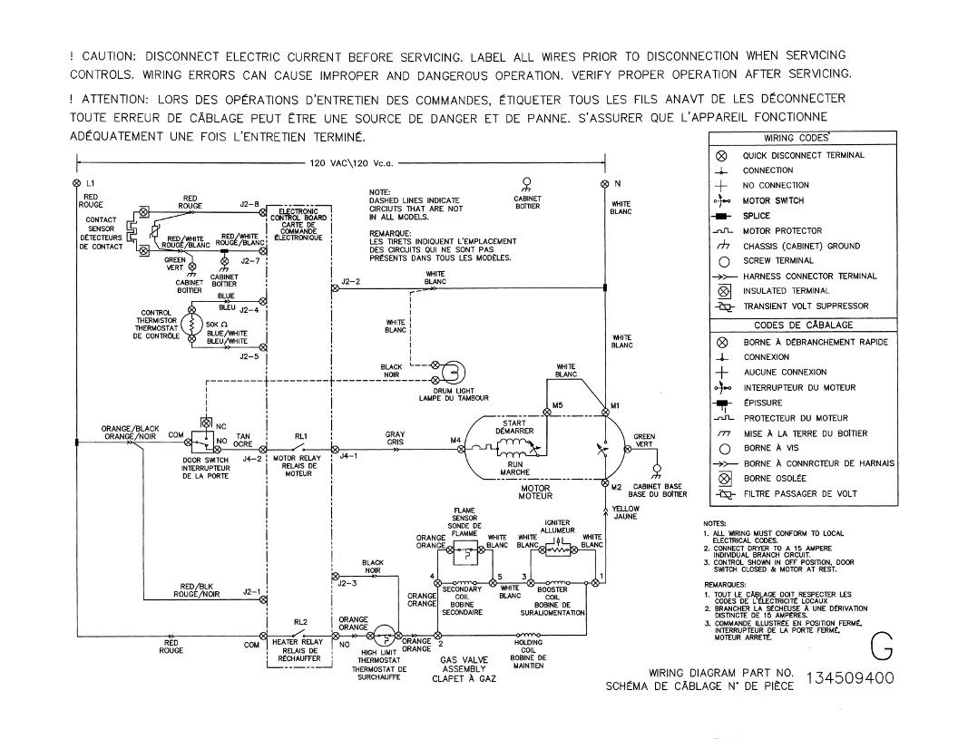 Sears Kenmore Dryer Wiring Diagram - Wiring Diagram & Cable ... on
