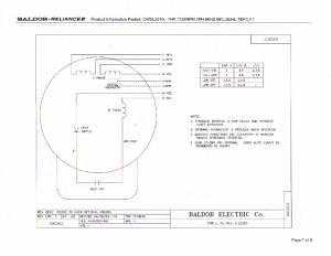 Marathon Electric Motors Wiring Diagram | Wiring Diagram Image