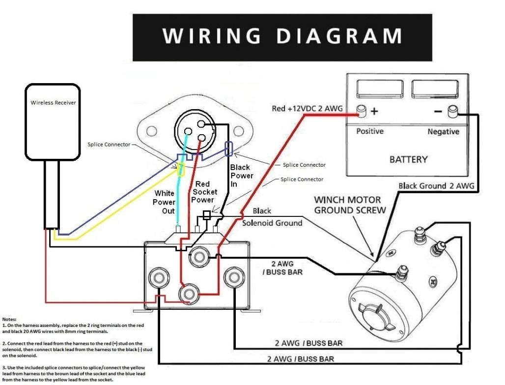 Badlands Wireless Winch Remote Wiring Diagram