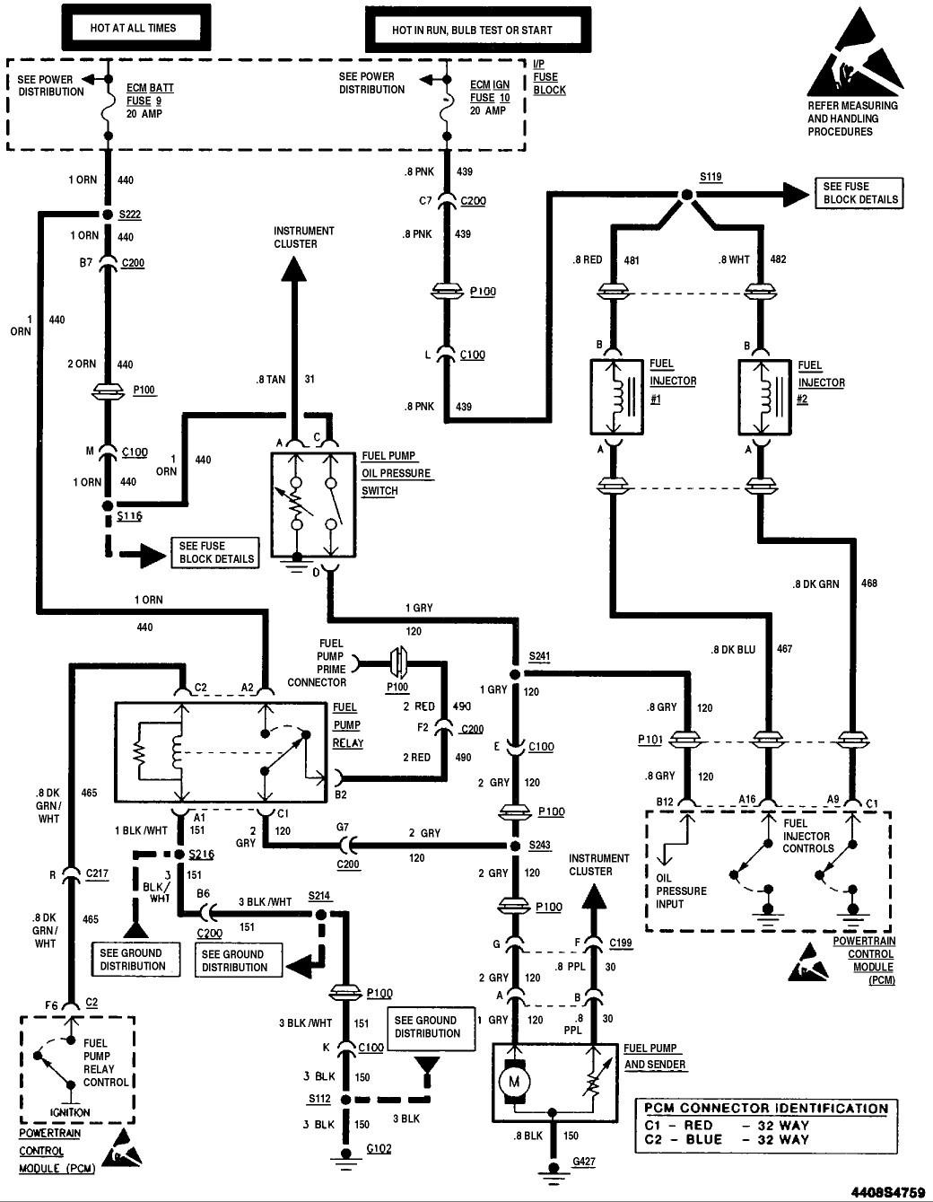 1995 s10 relay diagram wiring diagram