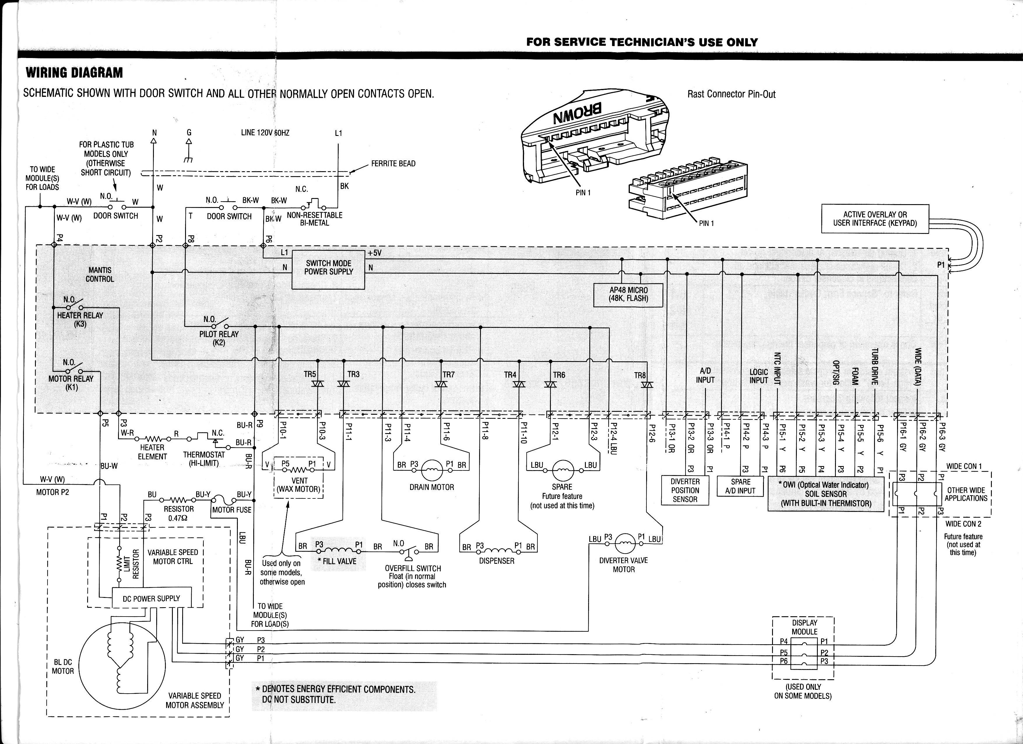 Kenmore Elite Refrigerator Electrical Schematic