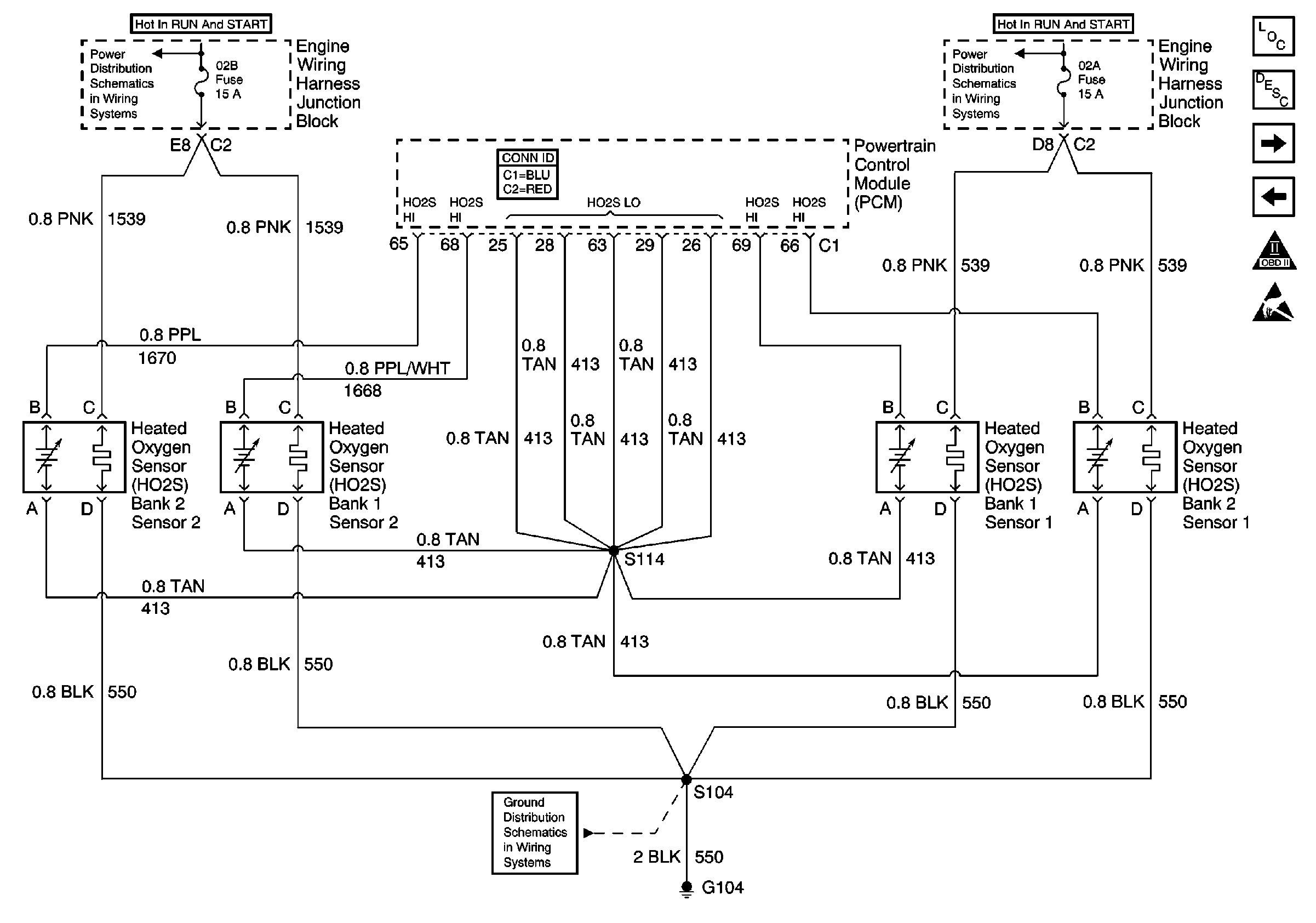 O2 Sensor Wiring Diagram Unique