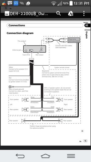 Pioneer Dehx6900bt Wiring Diagram Inspirational | Wiring Diagram Image