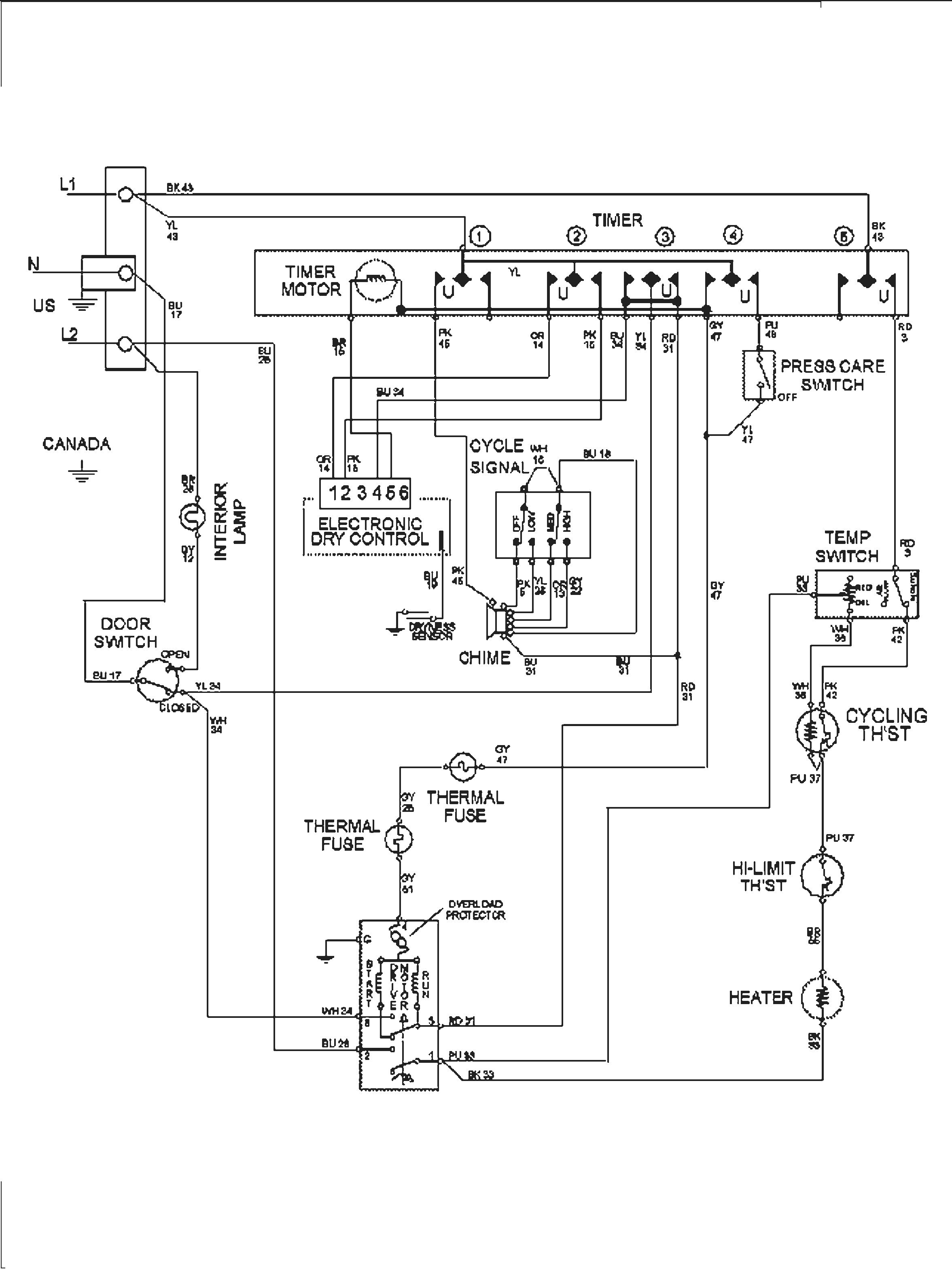 Whirlpool Duet Dryer Heating Element Wiring Diagram Unique