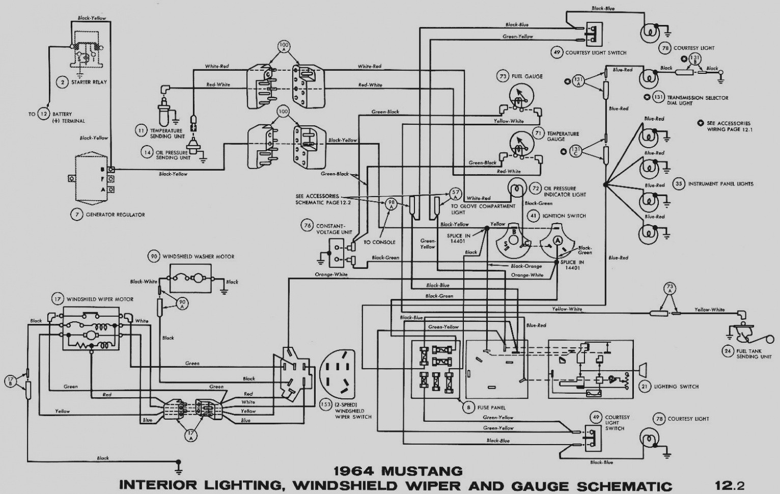 1976 ford mustang wiring diagram wiring diagram database 2009 Ford Mustang Wiring Diagram