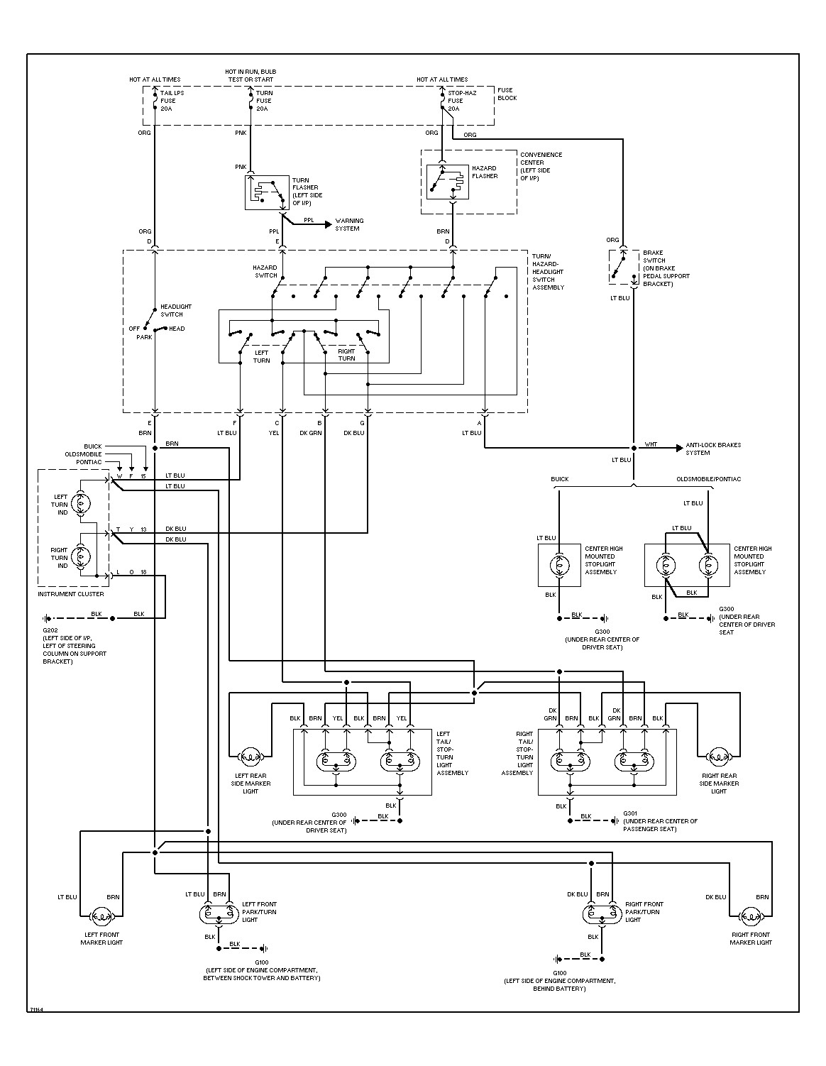 Pontiac Grand Am Radio Wiring Diagram