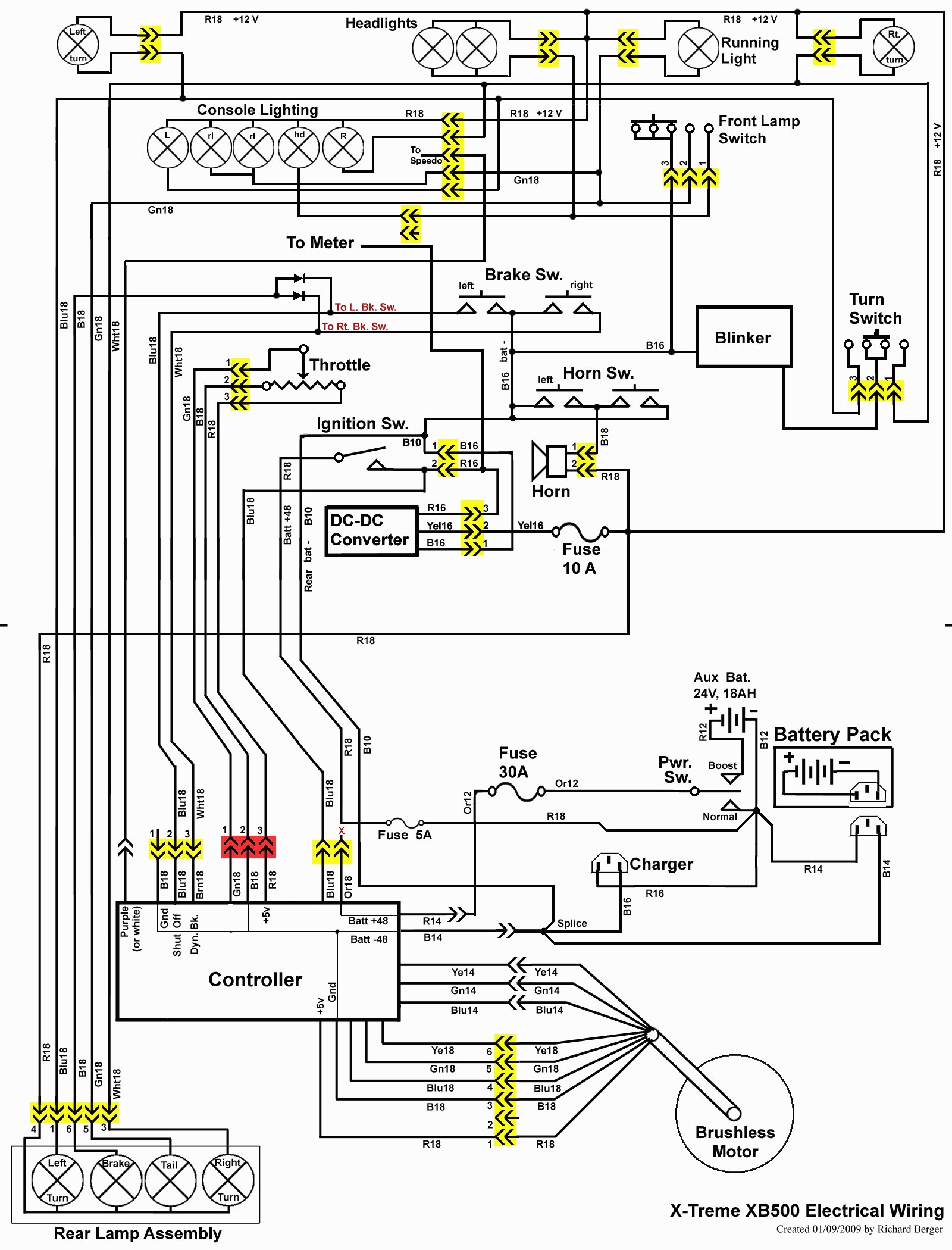 E100 Razor Scooter Wiring Diagram