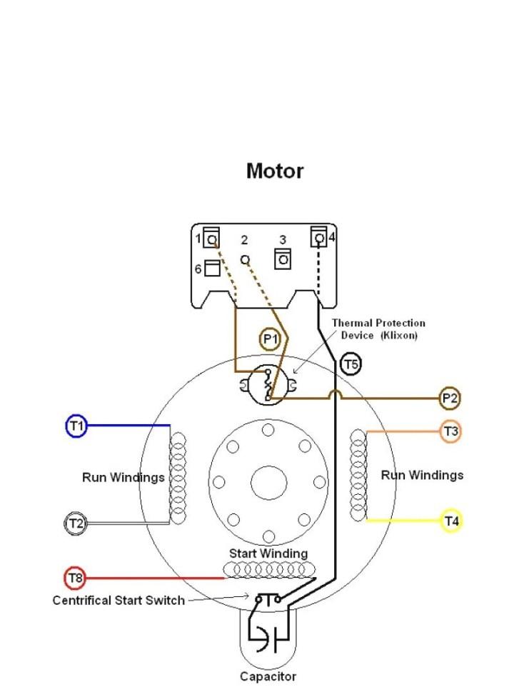 doerr motor wiring diagram  doerr electric motor