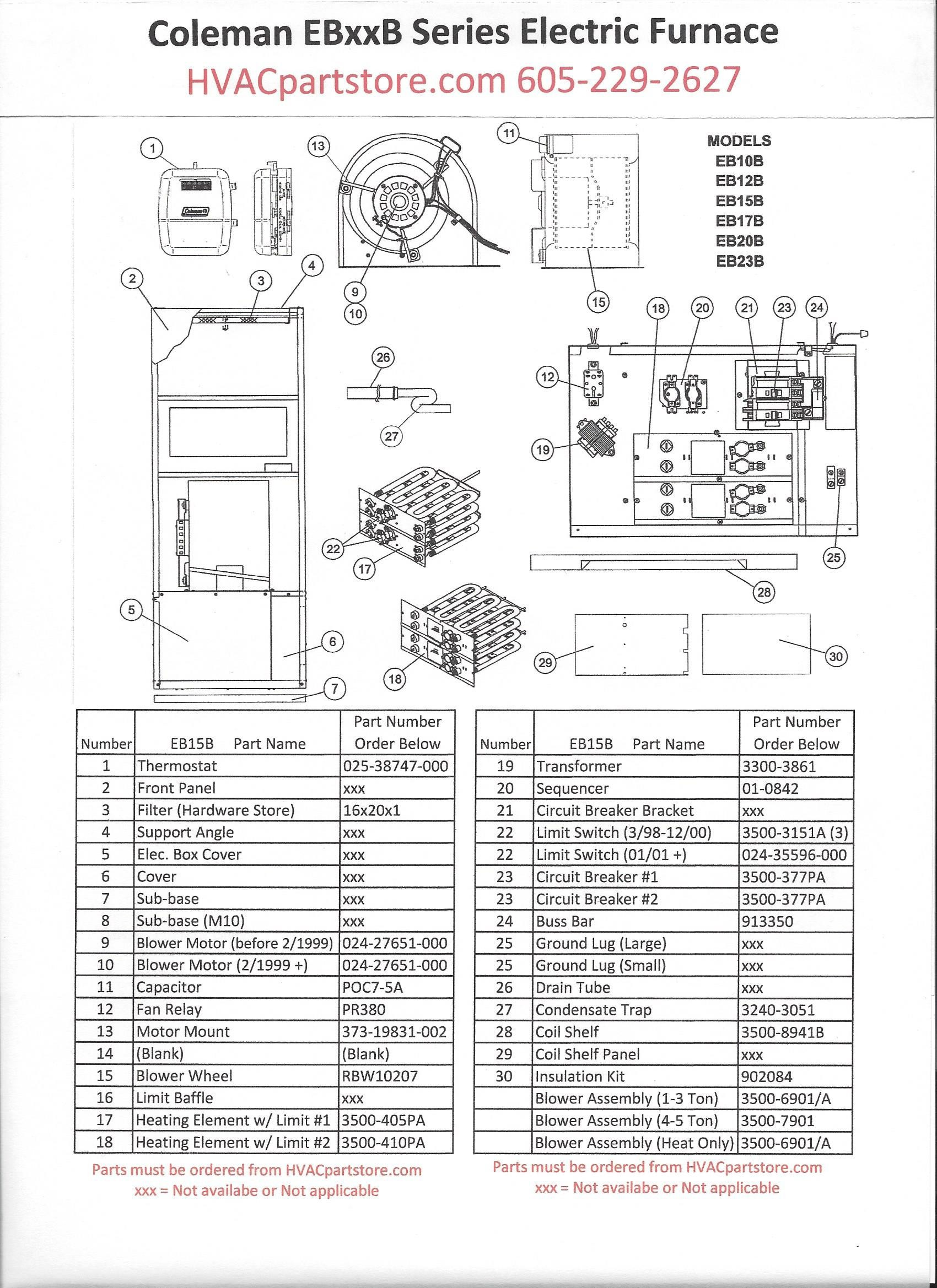 Electric Furnace Wiring Diagrams