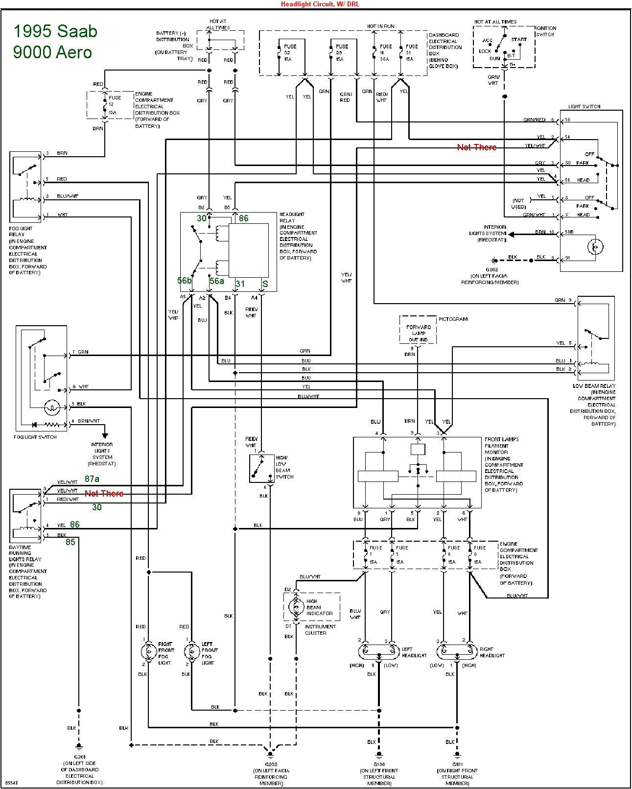 Saab 9 5 Abs Wiring Diagram
