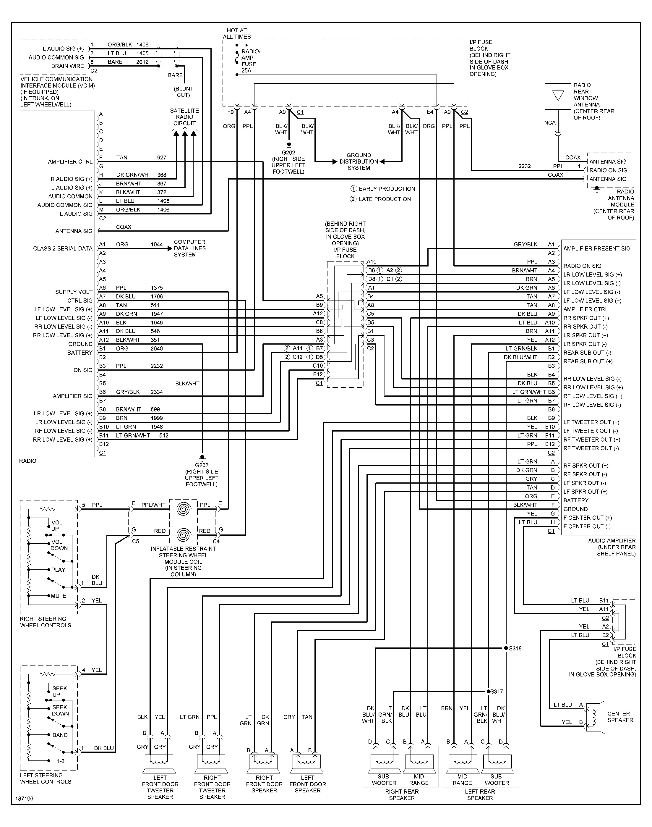 Pontiac Sunfire Radio Wiring Diagram