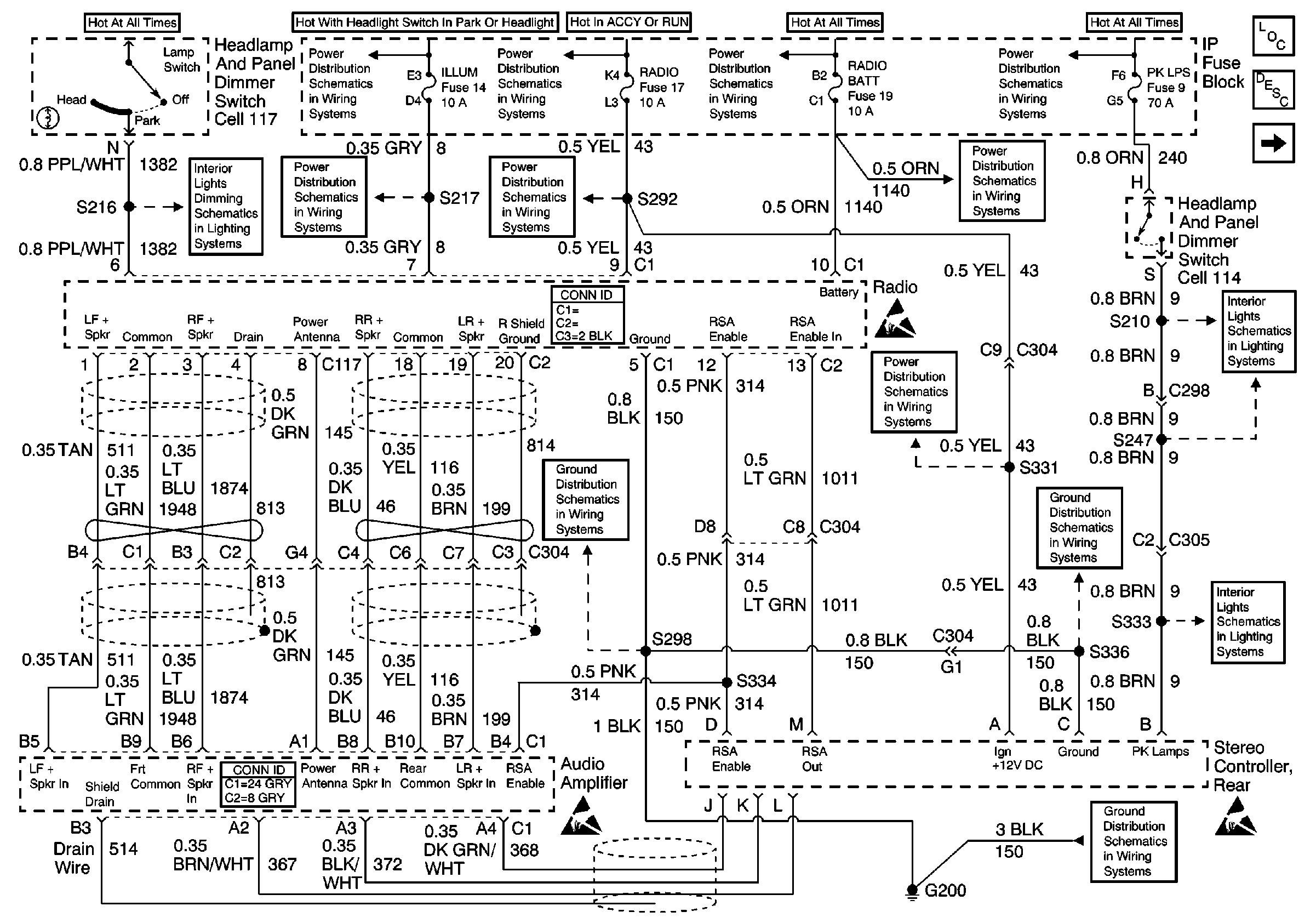 Cadillac Cts Floor Wiring Diagram