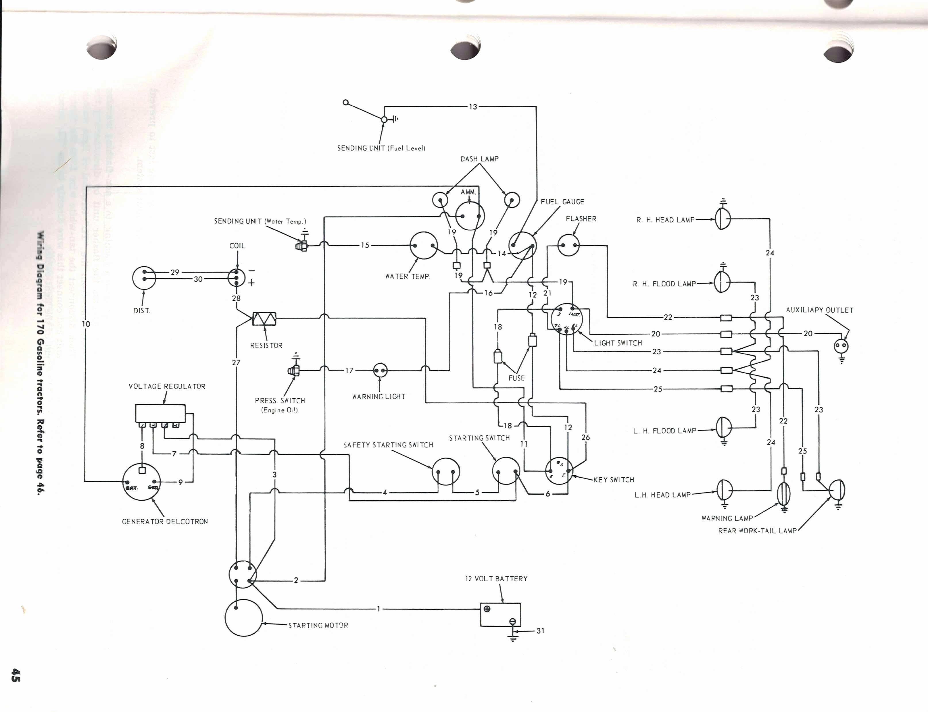 Ford Tractor Wiring Diagram