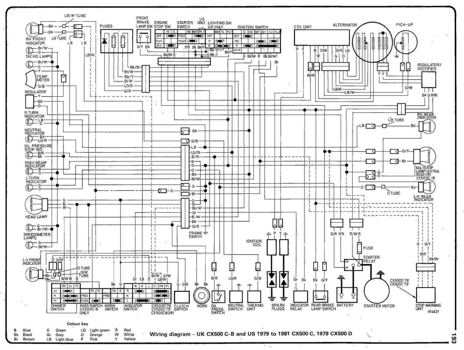 81 Honda Wiring Diagram | Wiring Diagram on