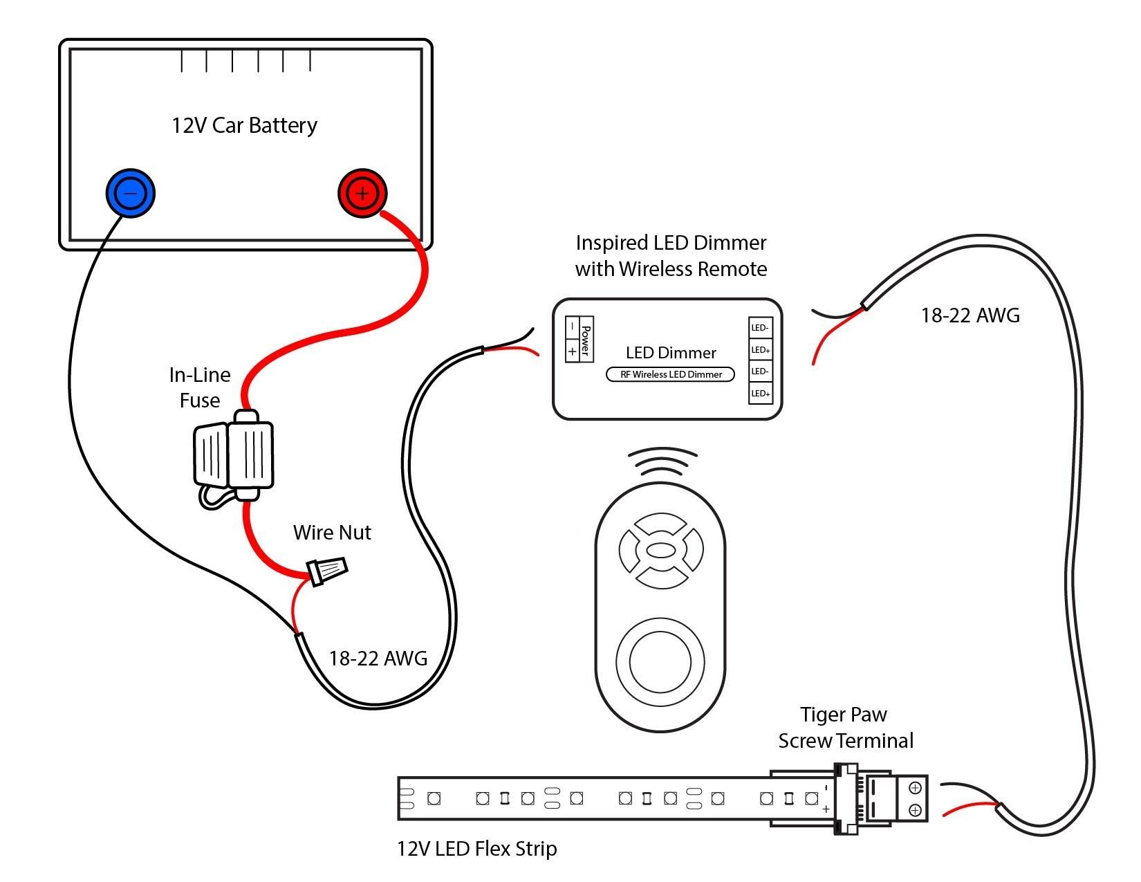 12 Volt Car Radio Wiring