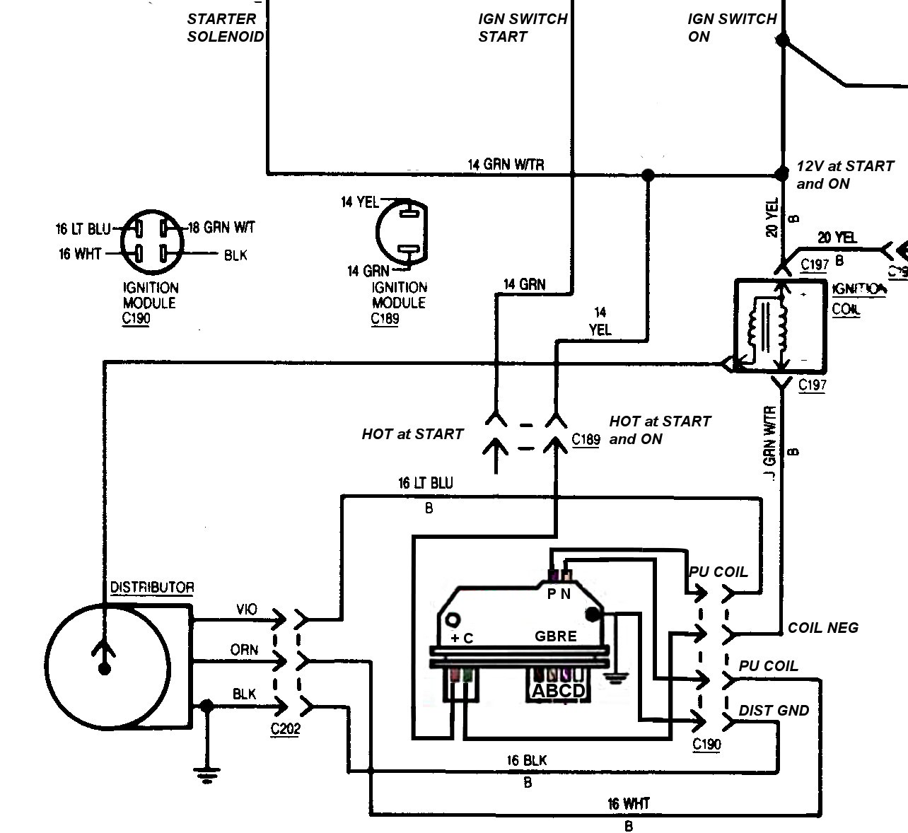 Ignition Control Module Wiring Diagram