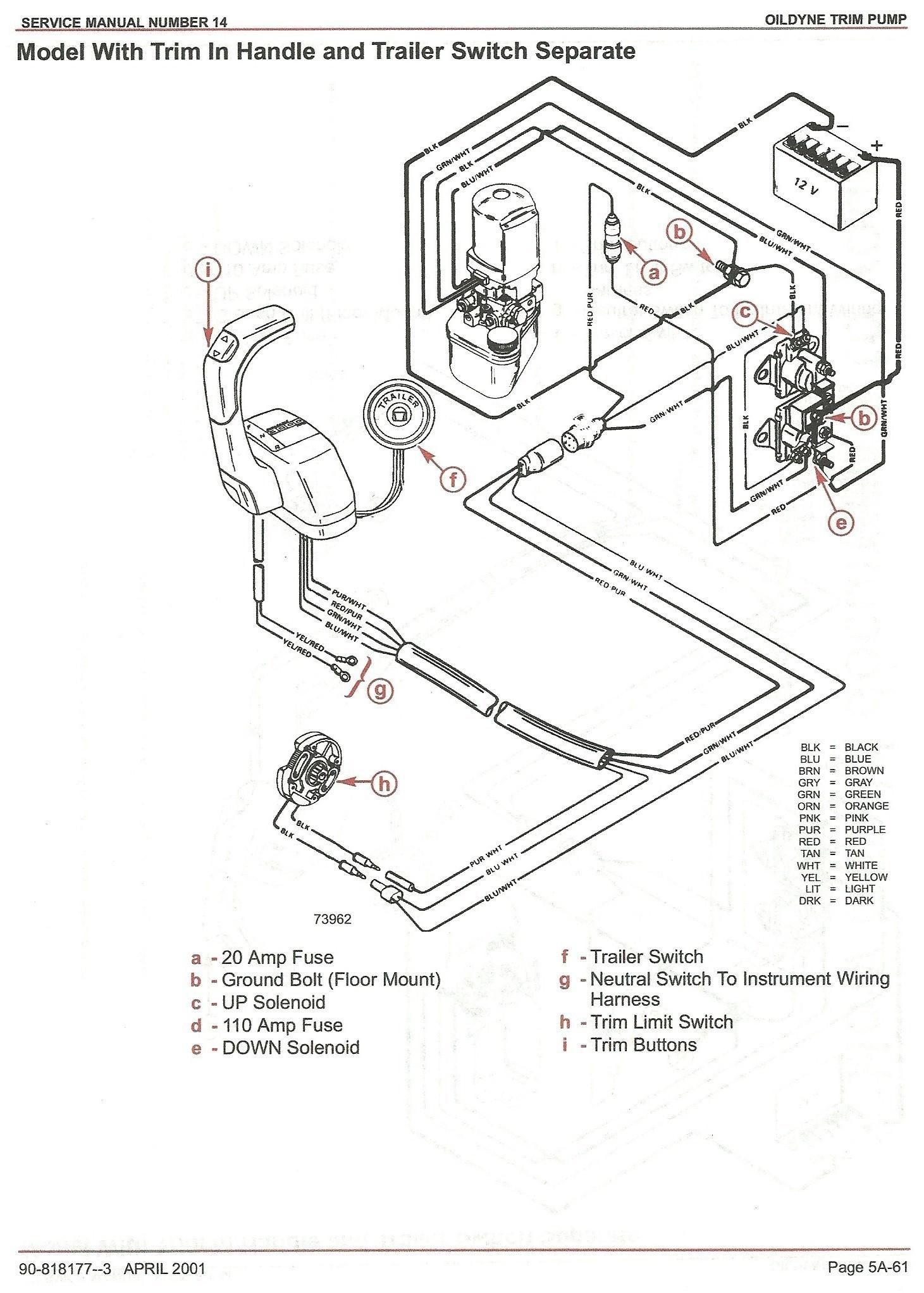 Mercruiser Pre Alpha Outdrive Diagram