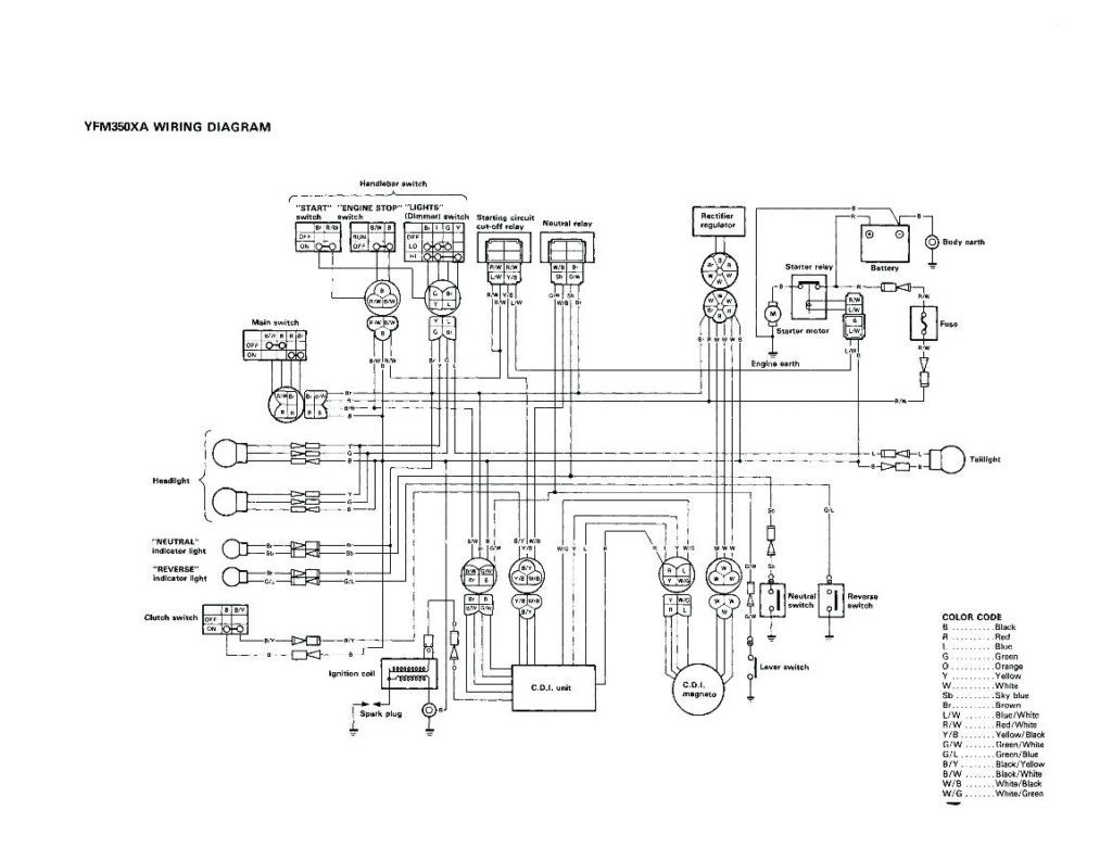 Yfs200 Wiring Diagram