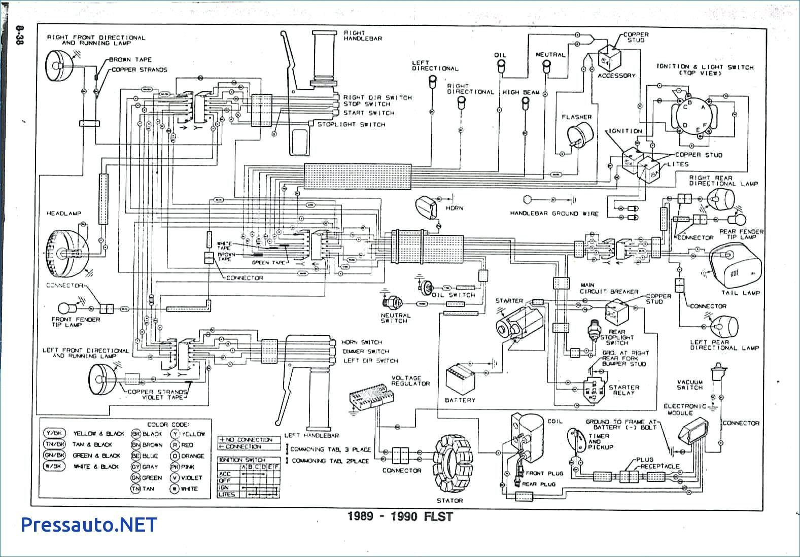 Harley Shovelhead Wiring Diagram Inspirational