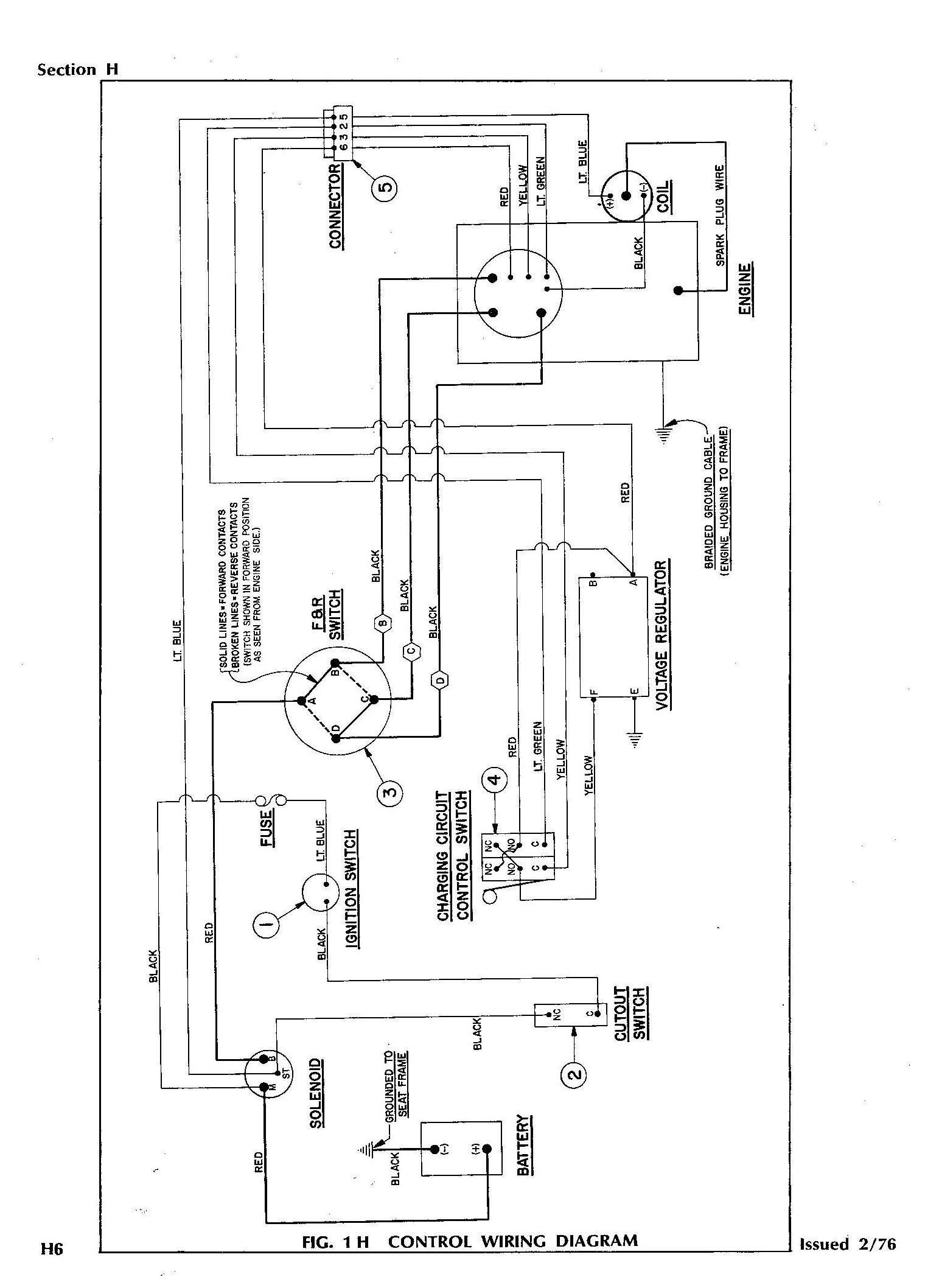 Ezgo Gas Golf Cart Wiring Diagram Inspirational