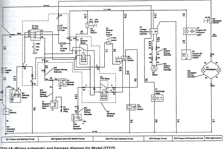 John Deere 345 Electrical Schematic New