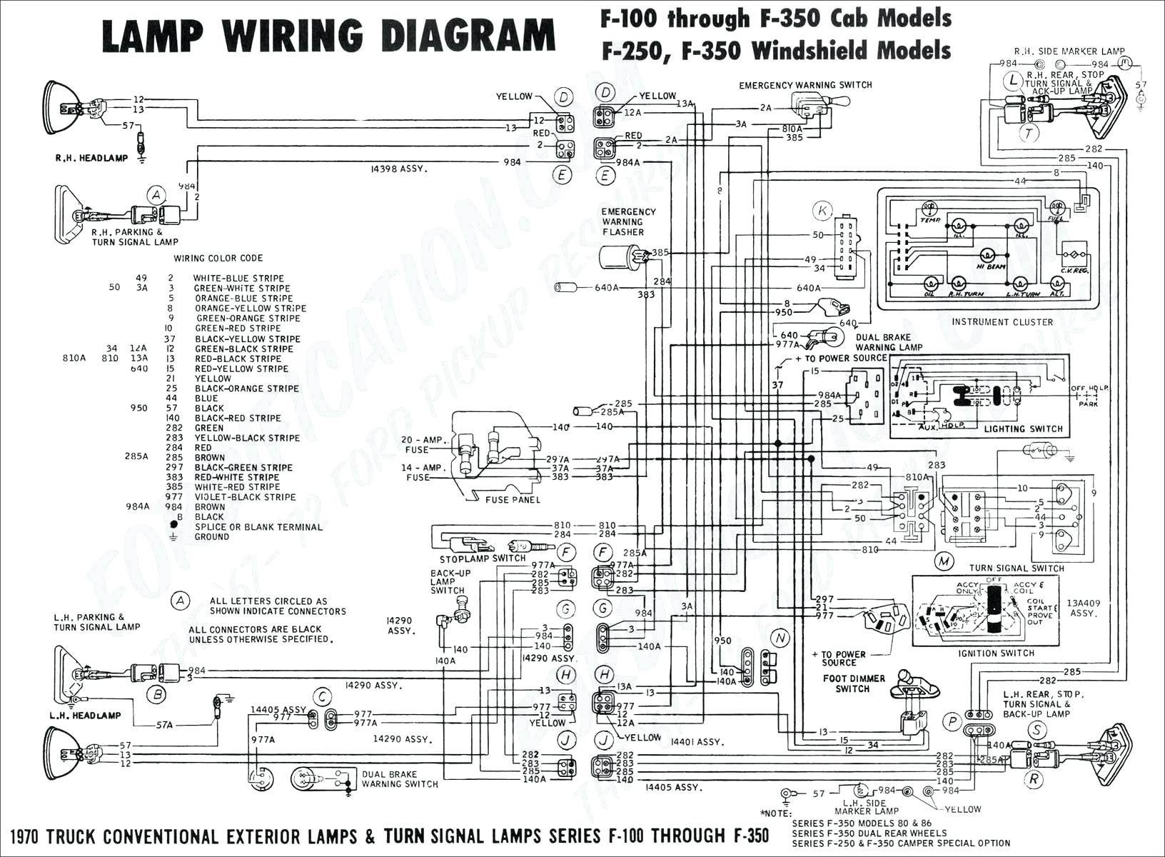 Trailblazer Radio Schematic