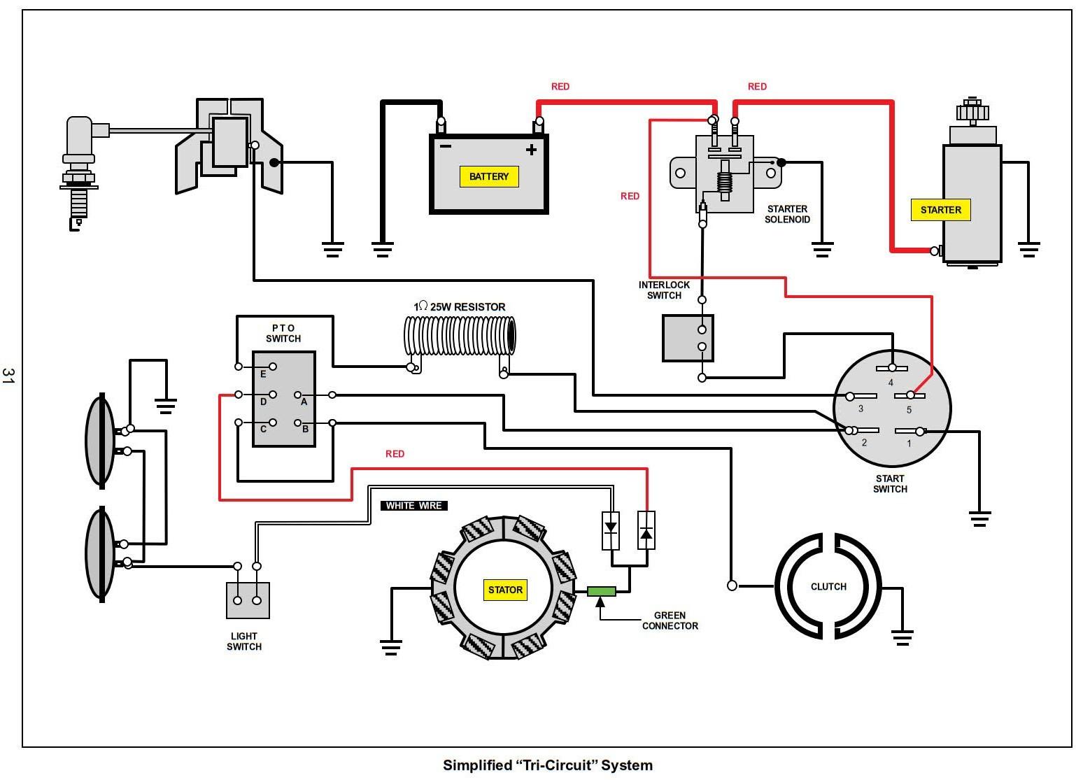 Alternator Wiring For Briggs Ans Straton
