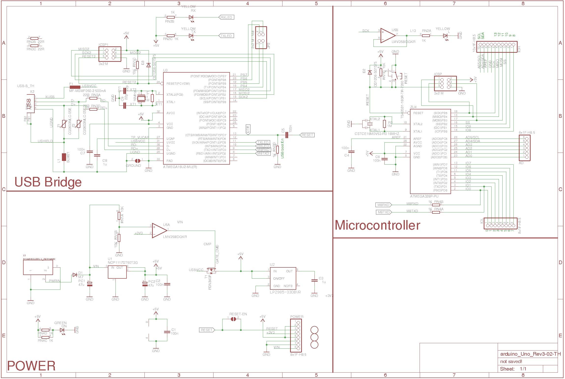 Arduino Schematic Creator