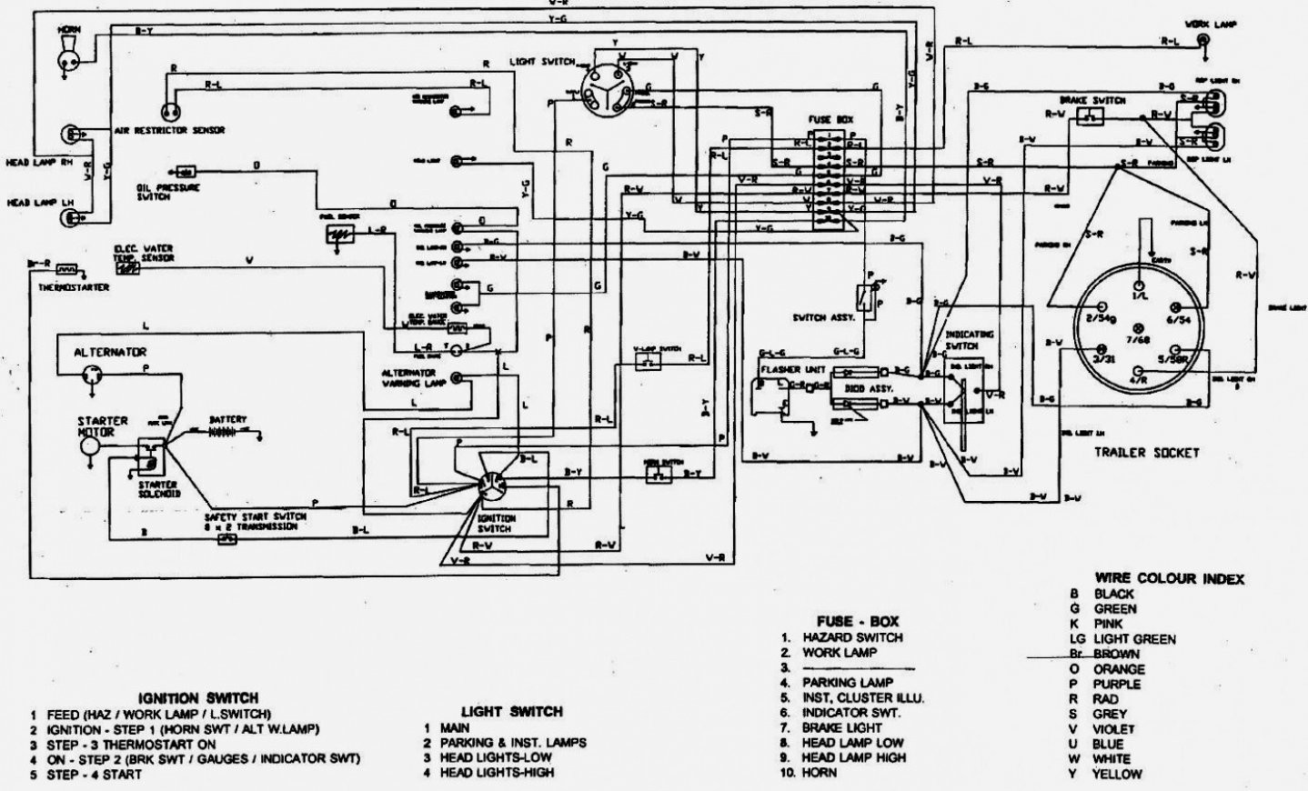 Schematics On A 345 John Deere
