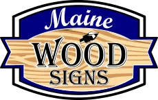 Maine Wood Signs Logo