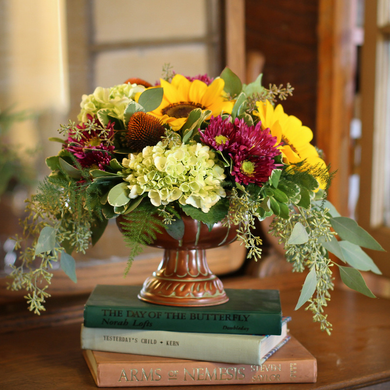 Fall Flowers, Yes! { Floral Delivery in the Twin Cities }