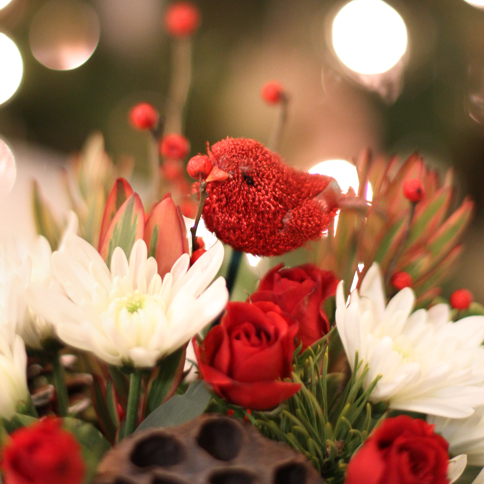 It's Christmas Time, at Main Floral { Flower Delivery Twin Cities Area }