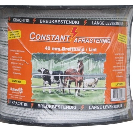 Lint Excellent Constant 200 m / 40 mm wit
