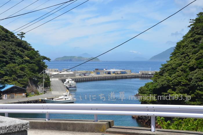 2017式根島キャンプ(8日目)菊水旅館と式根まちぶら