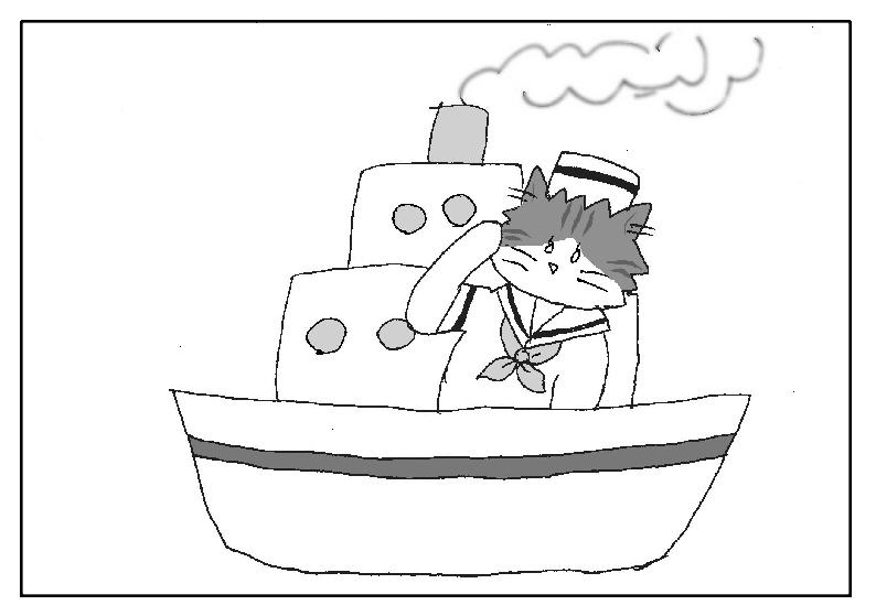 船 猫 航海の守り神