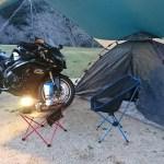 初めてのバイクキャンプ!必要な道具やおすすめテントを紹介!